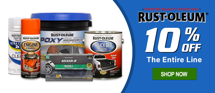 big sale d51f2 147e7 10% Off Rust-Oleum