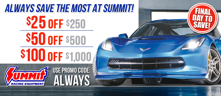 Free Shipping On Orders Over 99 At Summit Racing