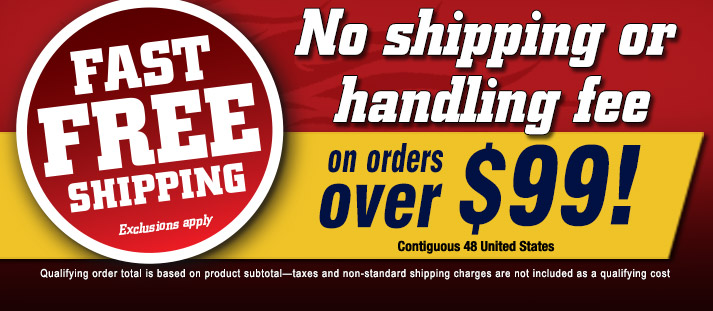 Fast Free Shipping!